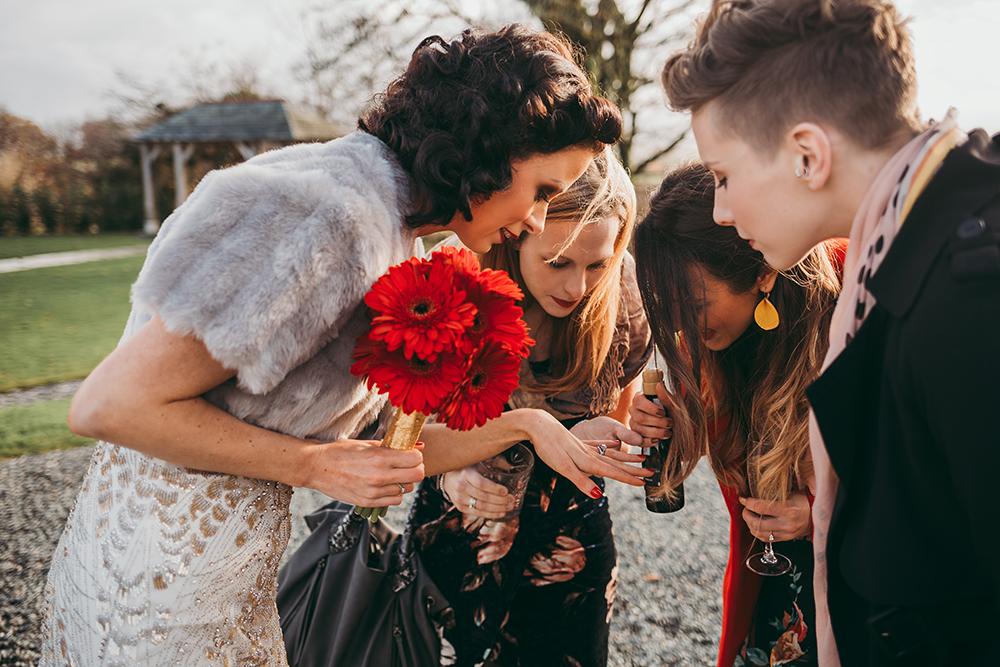 trevenna vintage weddings - Image 65