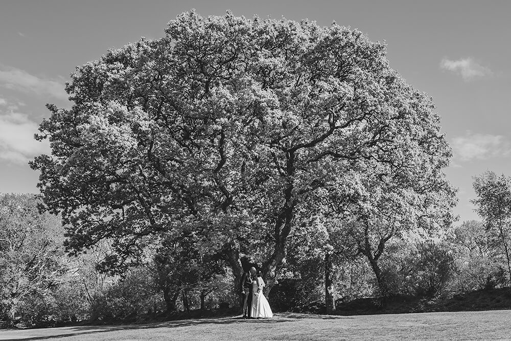 lanhydrock golf club wedding photography