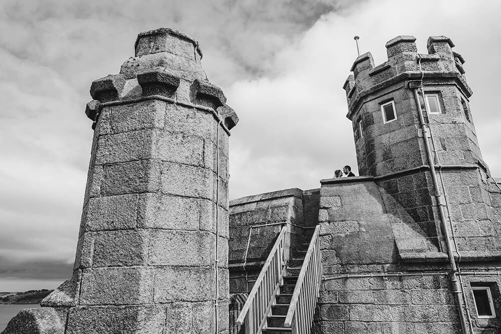 pendennis castle weddings cornwall