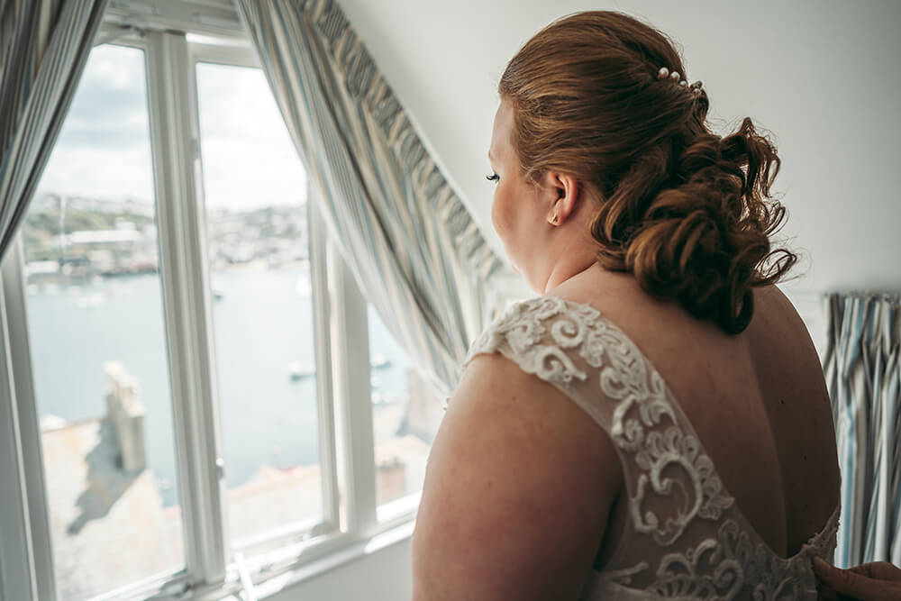 fowey harbour hotel wedding photography - Image 19
