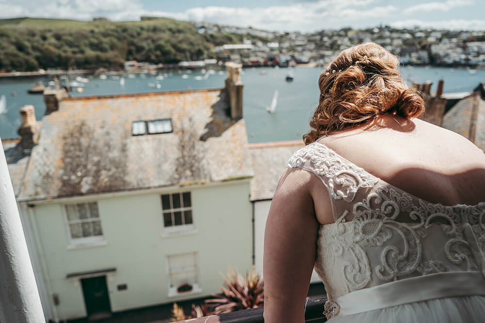 fowey harbour hotel wedding photography - Image 29