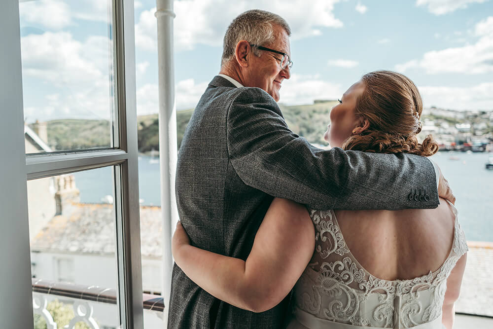 fowey harbour hotel wedding photography - Image 31