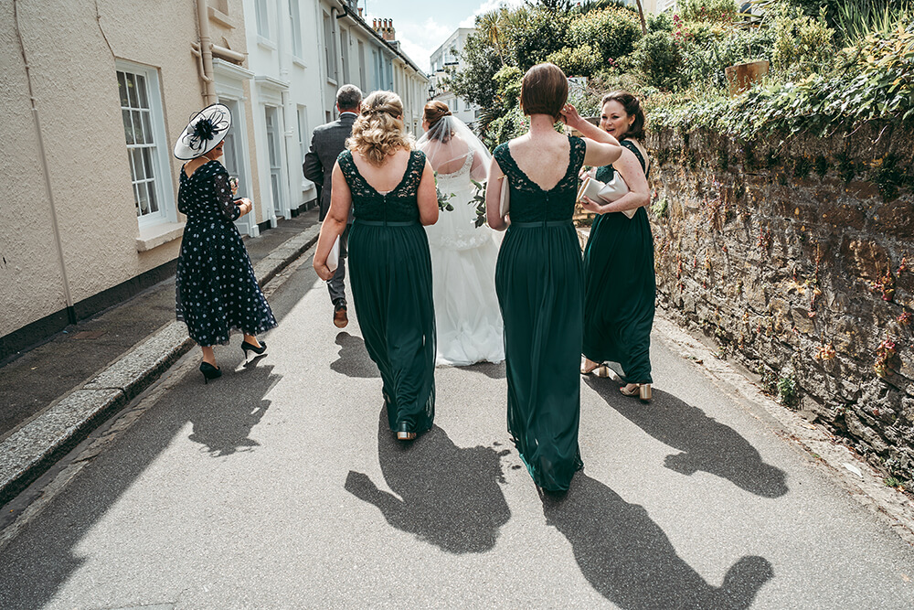 fowey harbour hotel wedding photography - Image 37