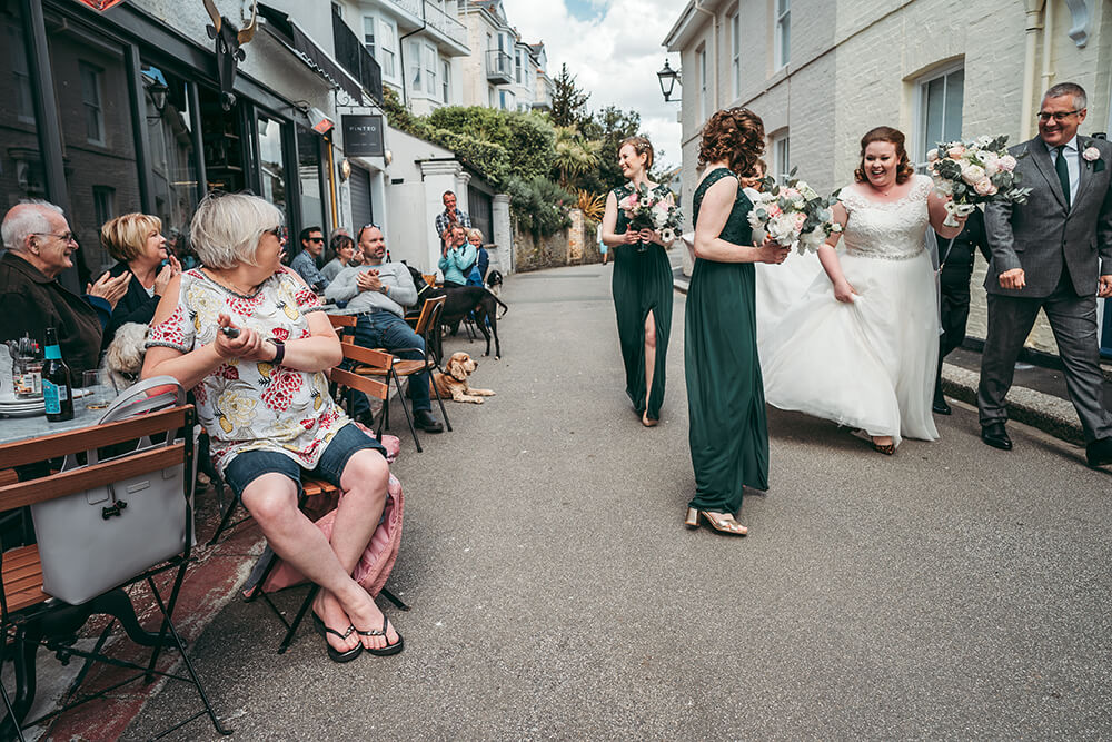fowey harbour hotel wedding photography - Image 38