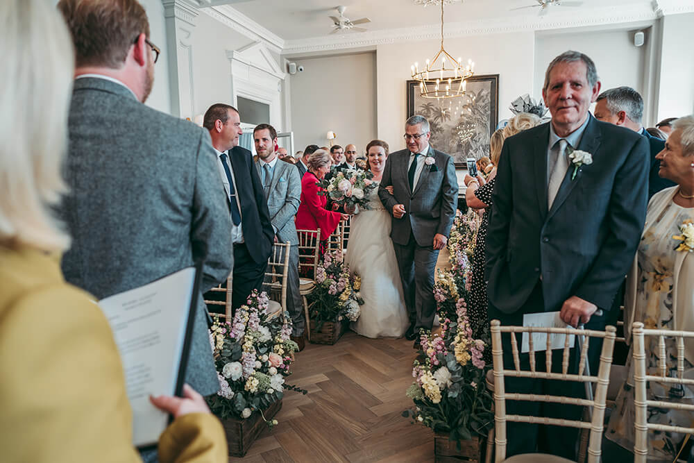 fowey harbour hotel wedding photography - Image 50