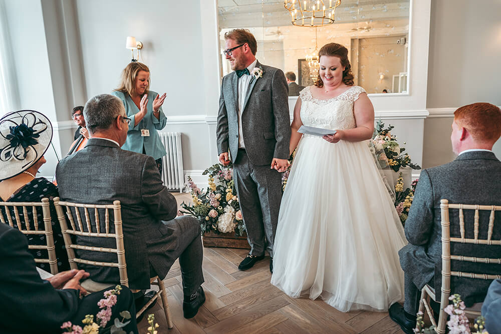 fowey harbour hotel wedding photography - Image 66