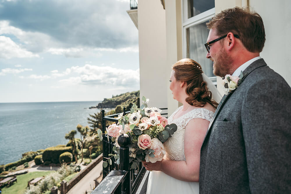 fowey harbour hotel wedding photography - Image 69