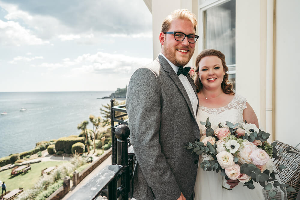 fowey harbour hotel wedding photography - Image 70