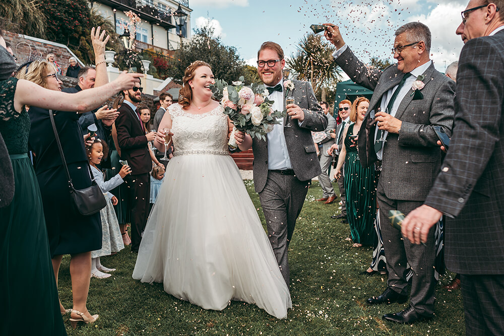 fowey harbour hotel wedding photography - Image 72