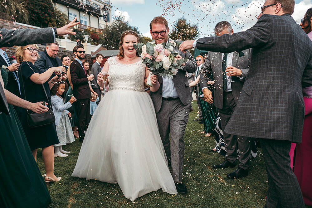fowey harbour hotel wedding photography - Image 74