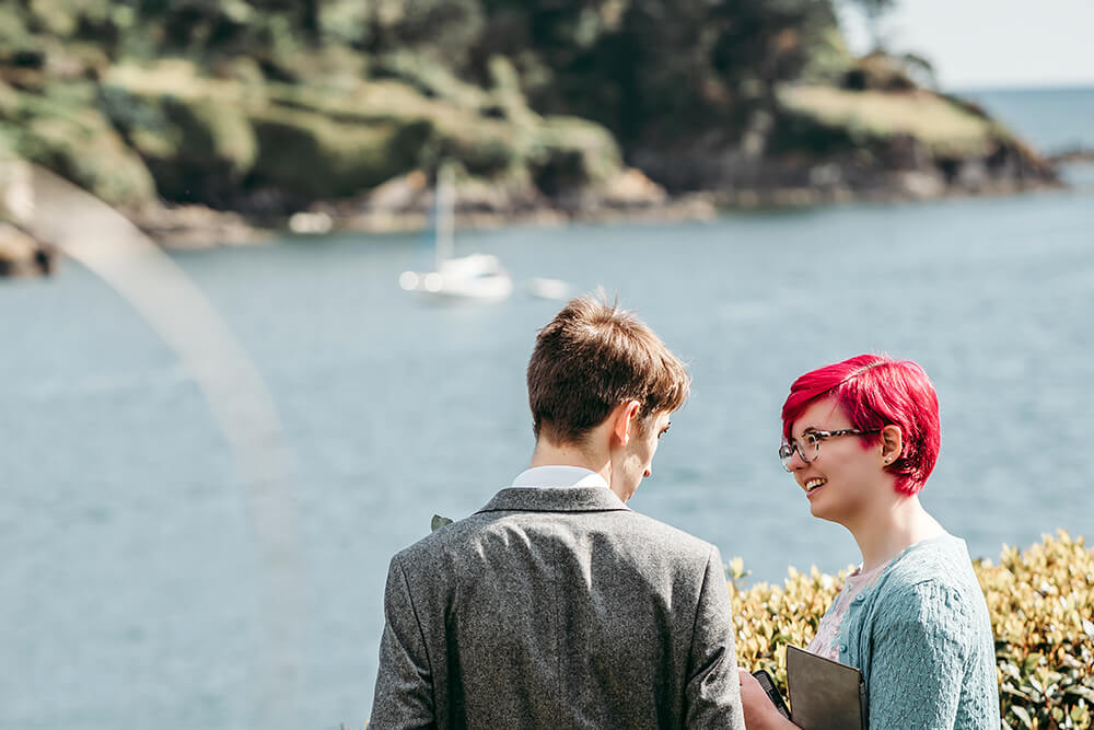 fowey harbour hotel wedding photography - Image 80
