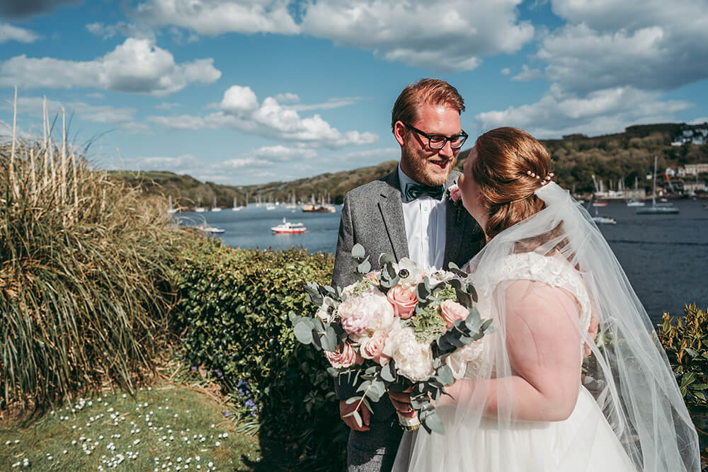 fowey harbour hotel wedding photography - Image 81