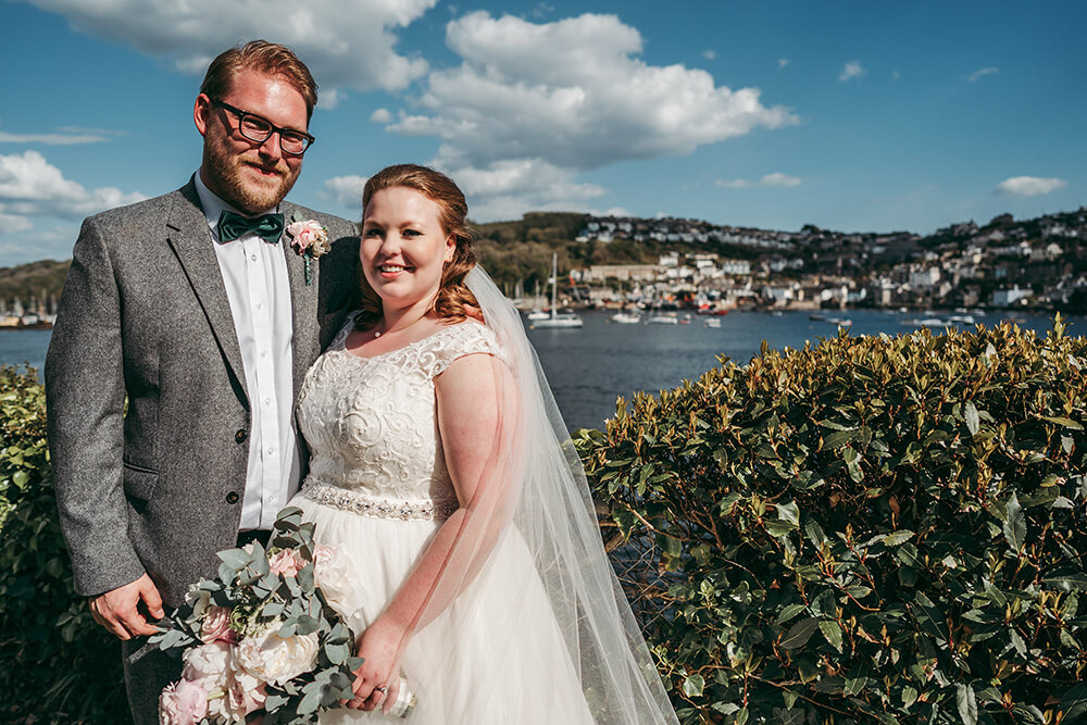 fowey harbour hotel wedding photography - Image 82