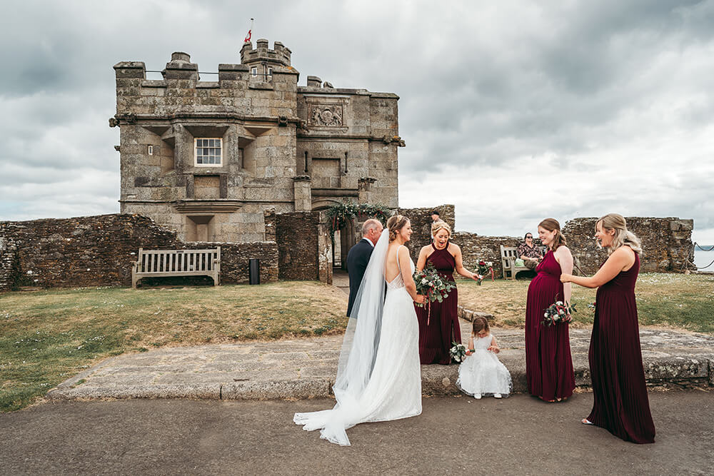 pendennis castle cornwall weddings - 42