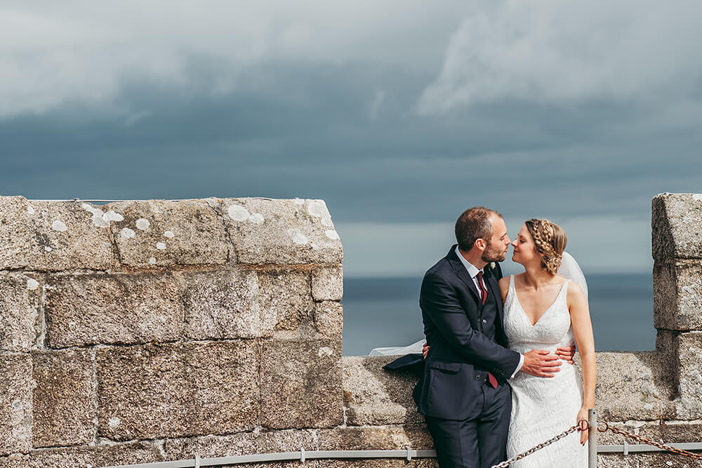 pendennis castle cornwall weddings - 75