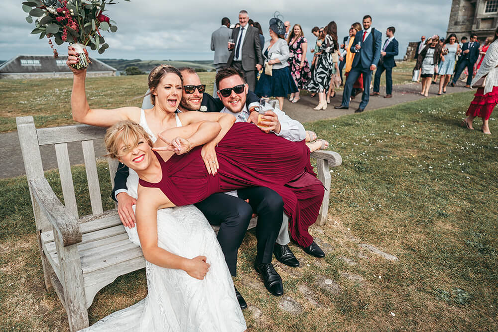pendennis castle cornwall weddings - 84