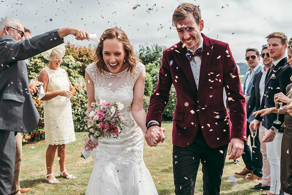 carlyon bay wedding photos