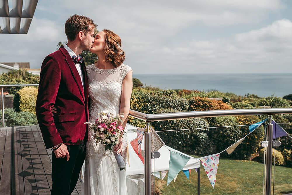 carlyon bay wedding photographs