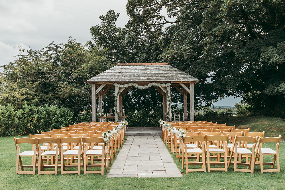 trevenna cornwall arbour wedding venue