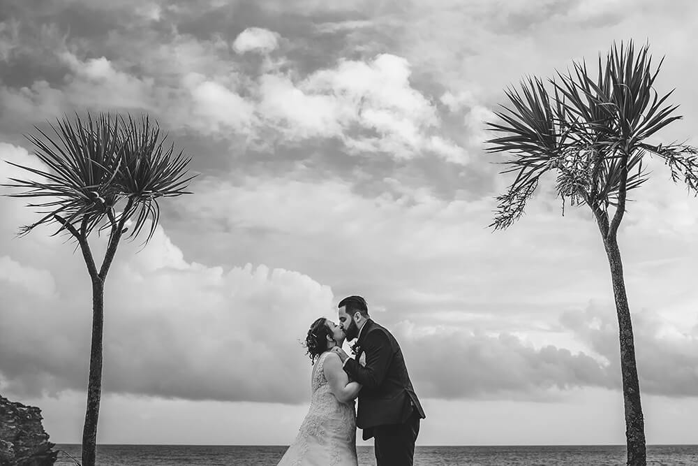 carlyon bay beach st austell wedding