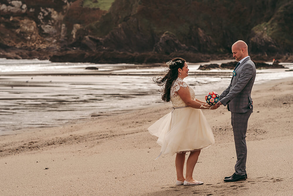 elopement weddings in cornwall - 46