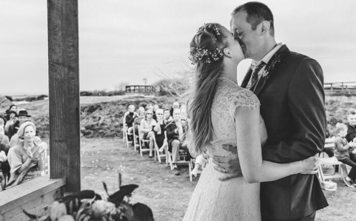 Wedding Photographer Cornwall - Whitsand Bay Fort