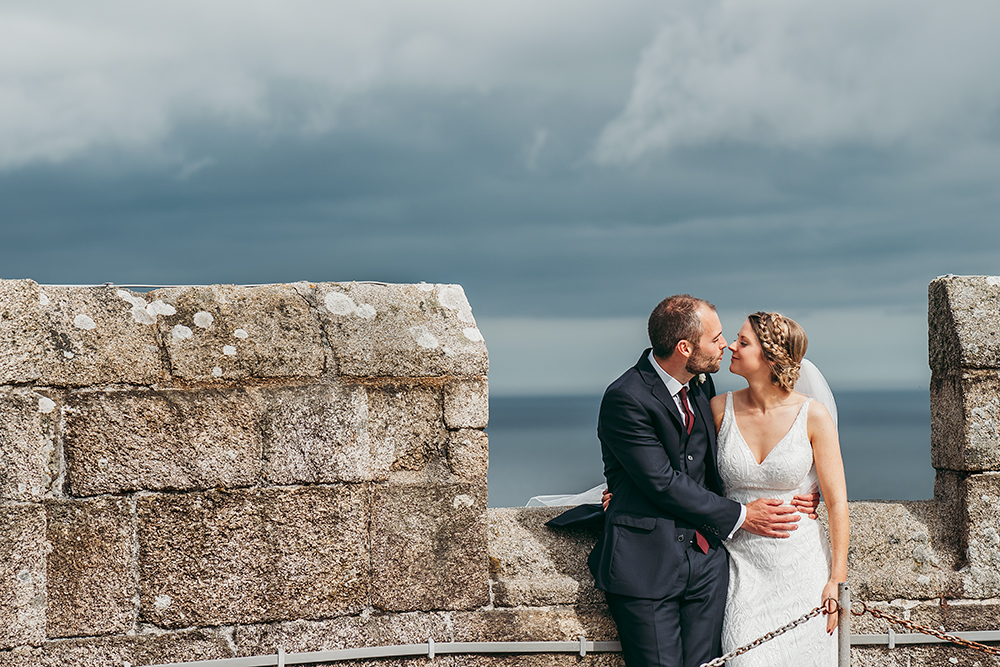 best pendennis castle wedding photography - 11