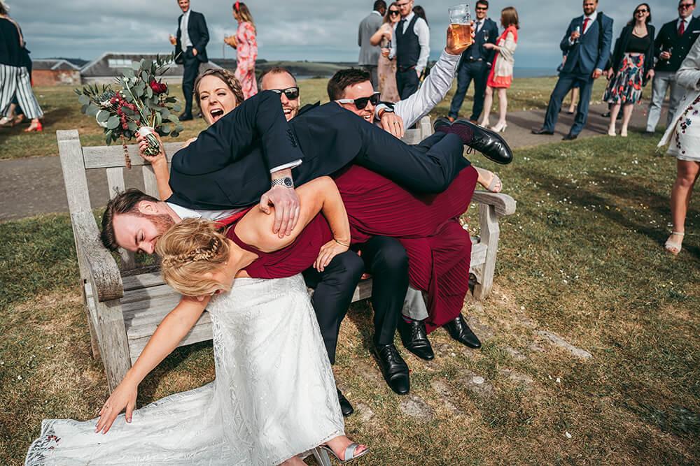 best pendennis castle wedding photography - 31