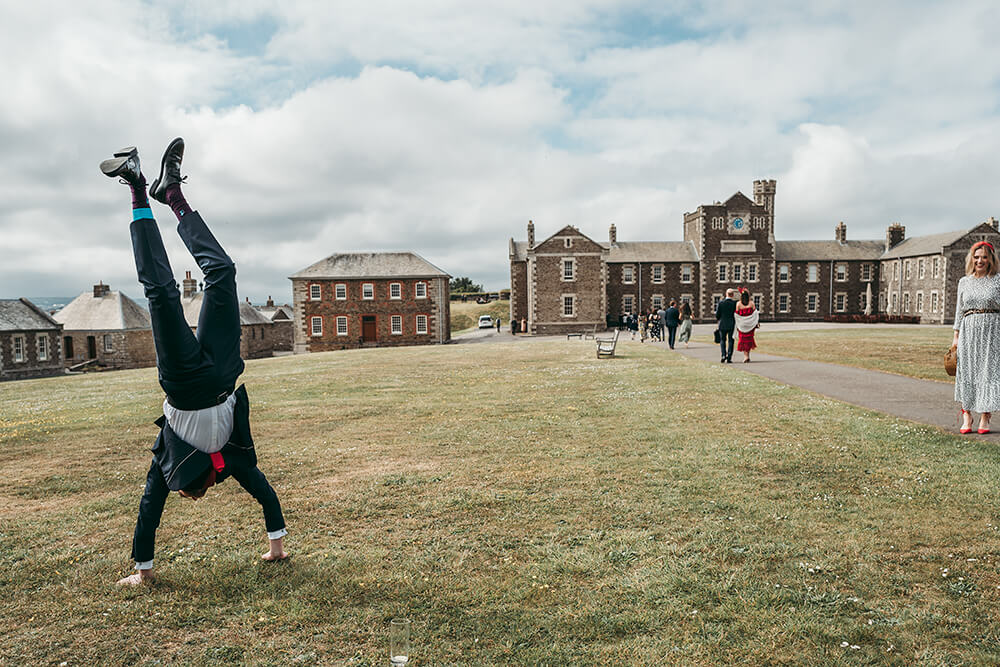 best pendennis castle wedding photography - 33