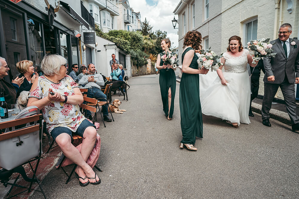 best fowey harbour hotel wedding photography - 7