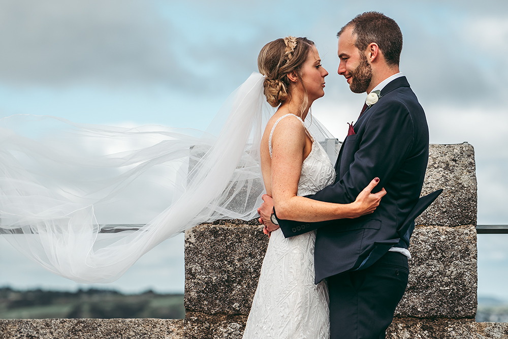 best pendennis castle wedding photography - 93