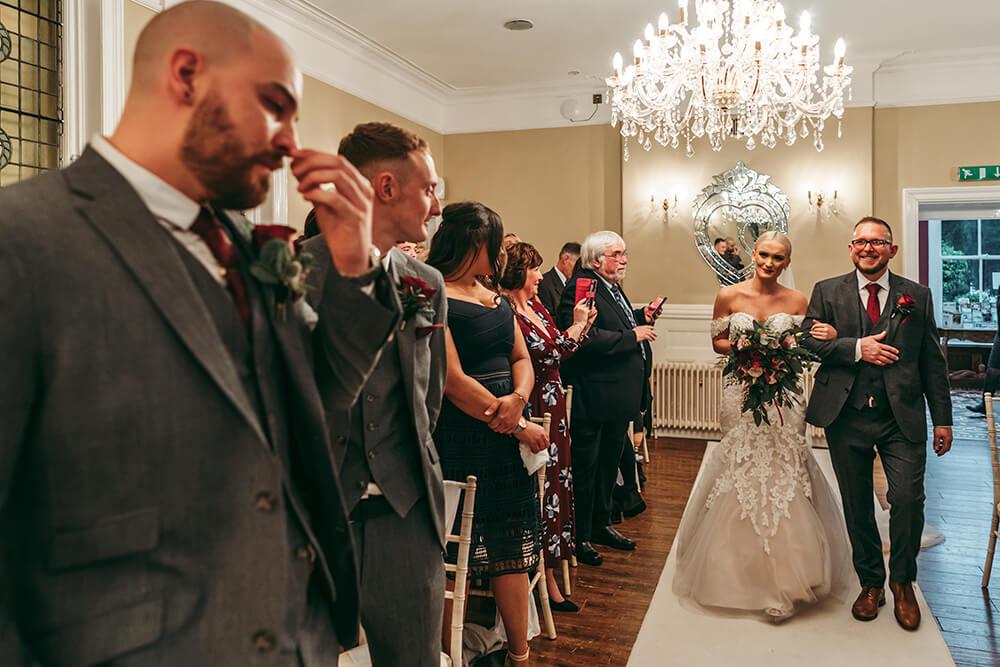 st elizabeth's house wedding plympton - Image 21