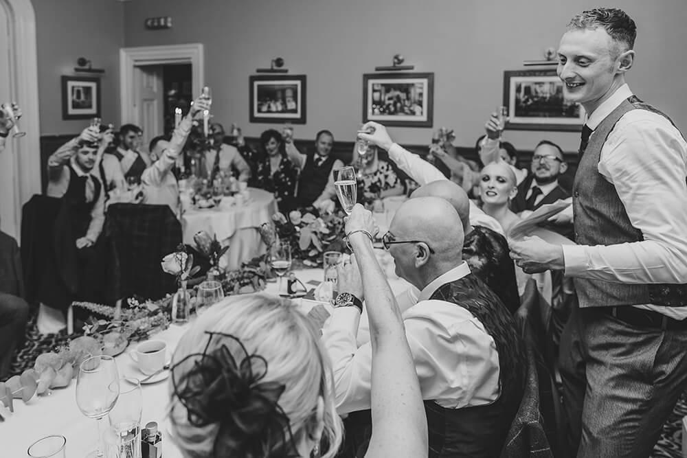 st elizabeth's house wedding plympton - Image 77