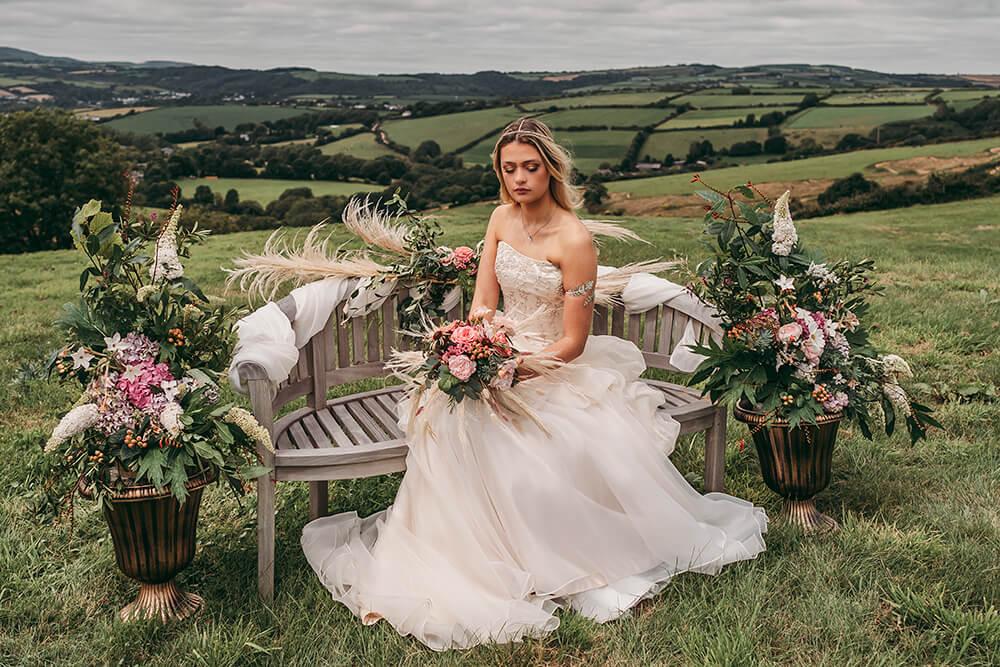 cornwall farm wedding photography photo shoot image 18