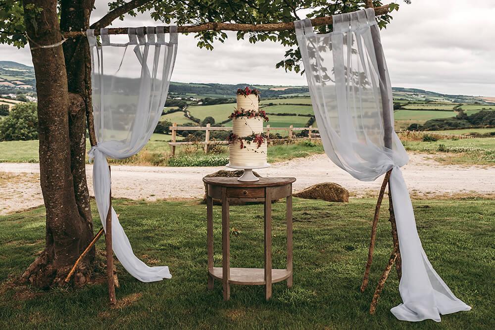 cornwall farm wedding photography photo shoot image 2