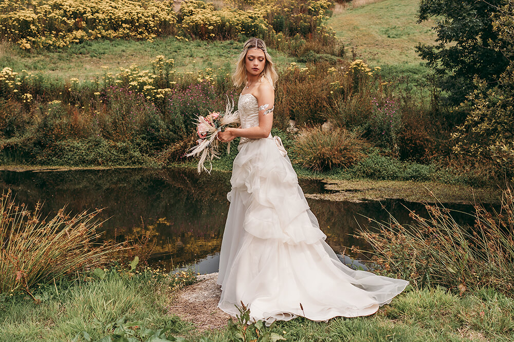 cornwall farm wedding photography photo shoot image 23