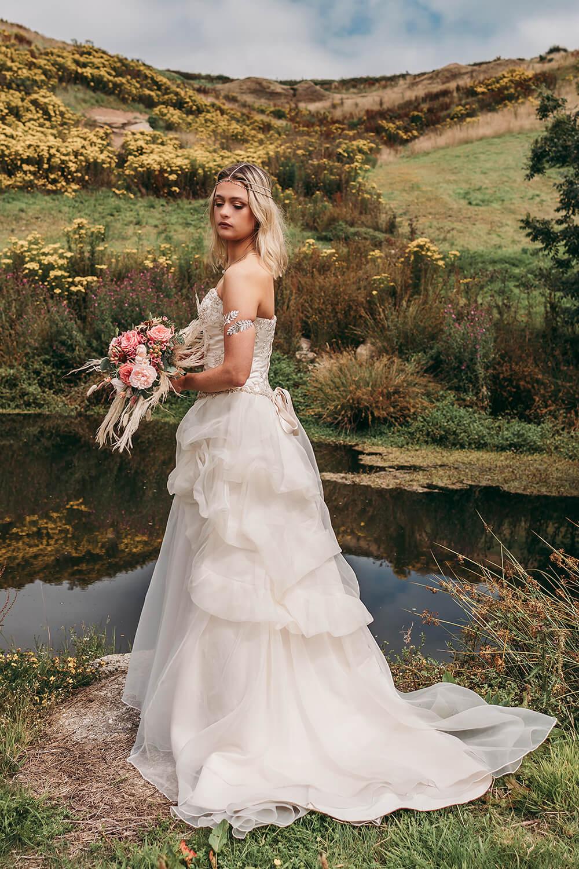 cornwall farm wedding photography photo shoot image 24