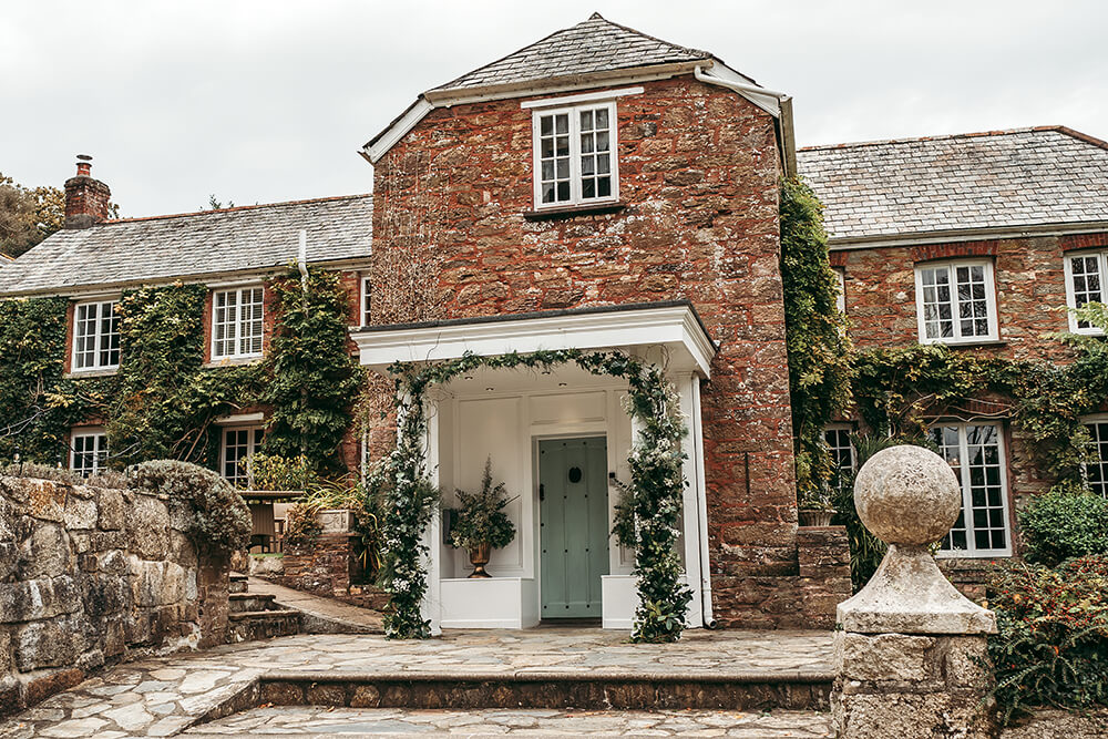 boscundle manor st austell weddings - 1
