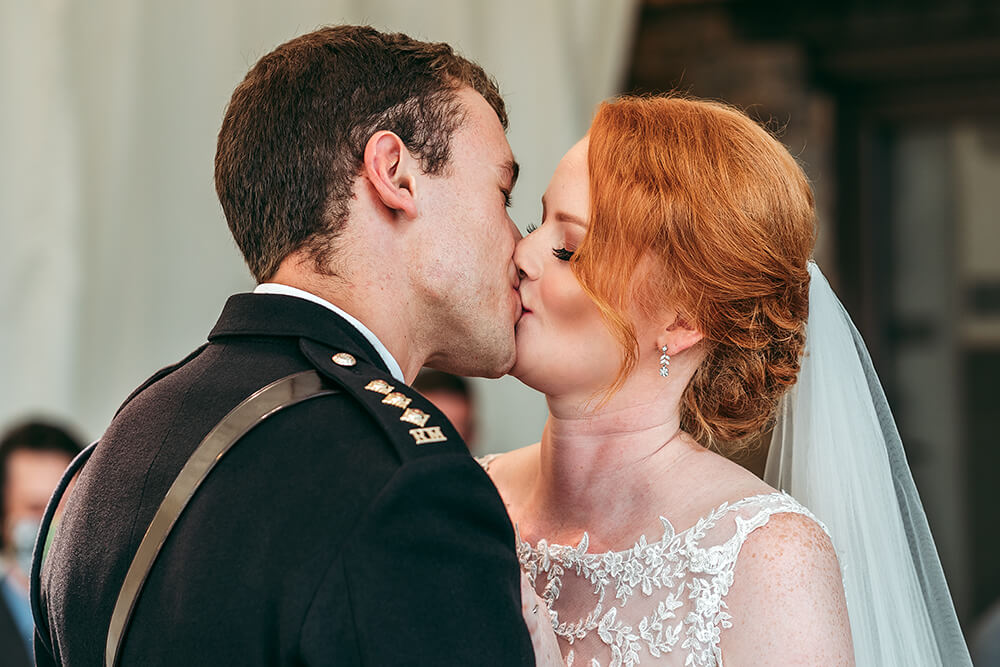trevenna farm military wedding in cornwall
