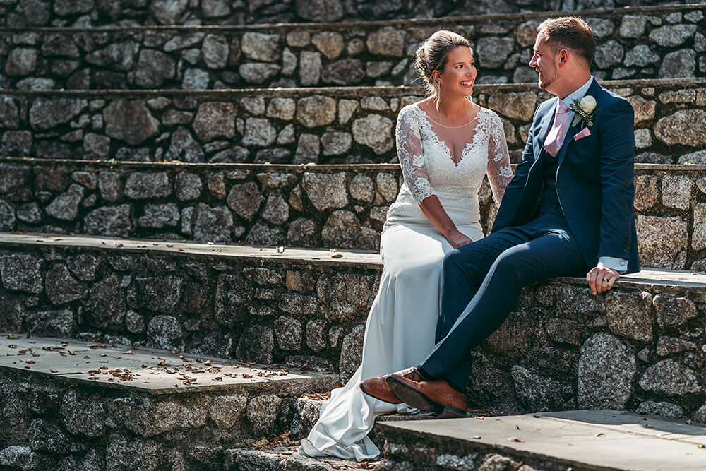 best trebah garden wedding photography 2020 - 21