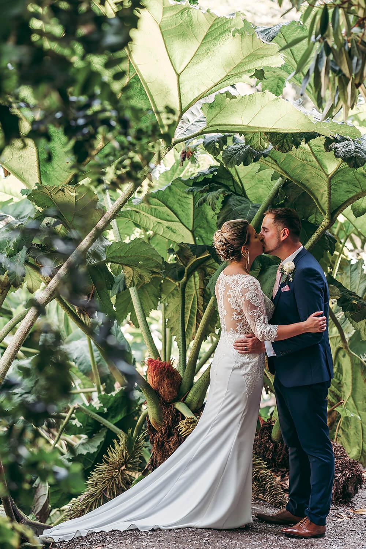 best trebah garden wedding photography 2020 - 23