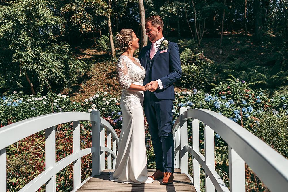 best trebah garden wedding photography 2020 - 27