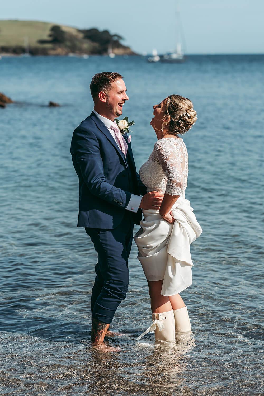 best trebah garden wedding photography 2020 - 29
