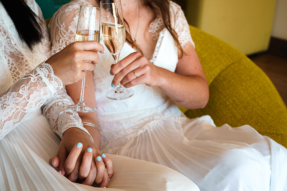 elopement beach wedding cornwall 22