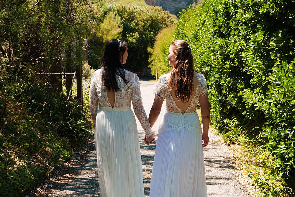 elopement beach wedding cornwall 26