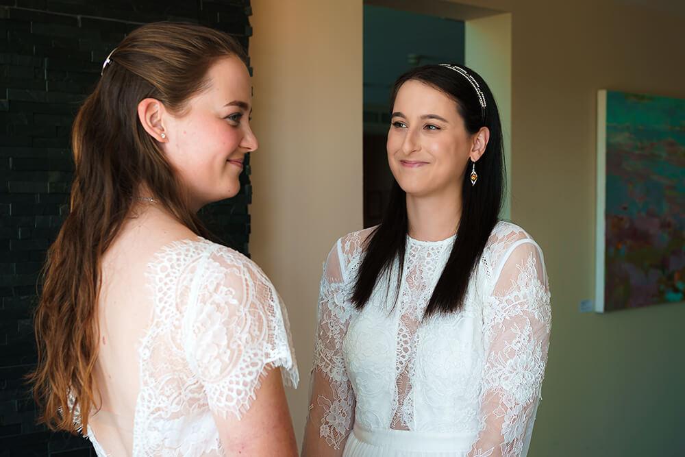 elopement beach wedding cornwall 3