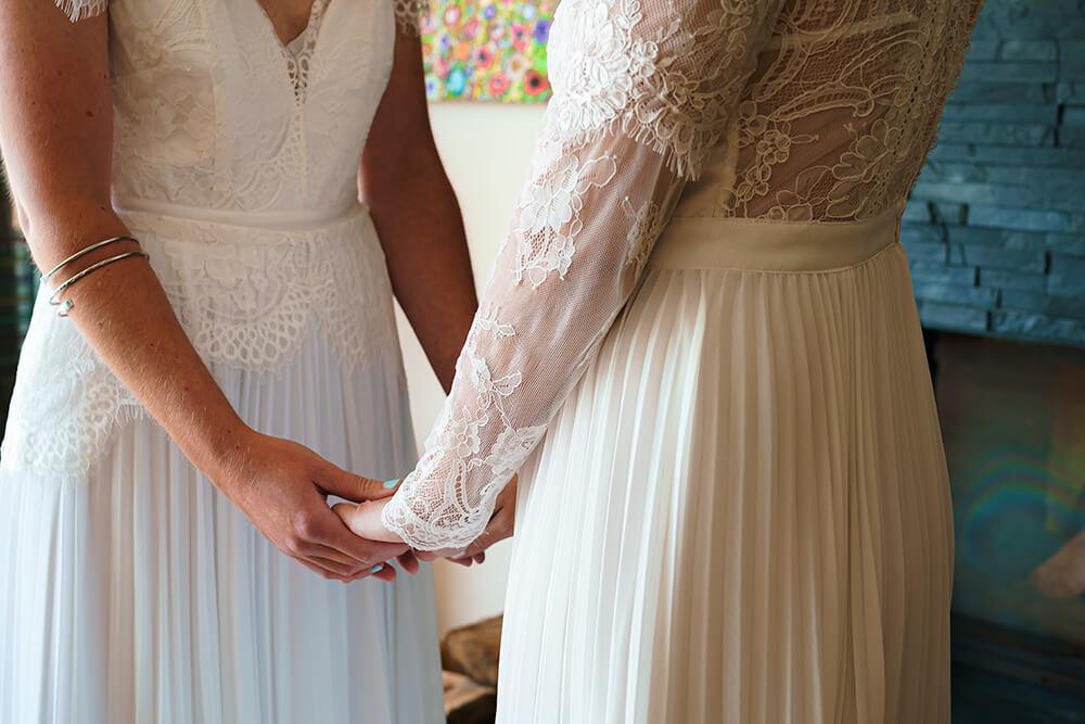 elopement beach wedding cornwall 5