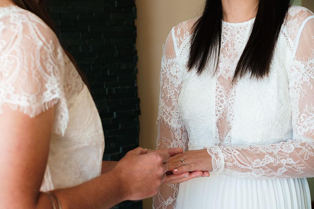 elopement beach wedding cornwall 8