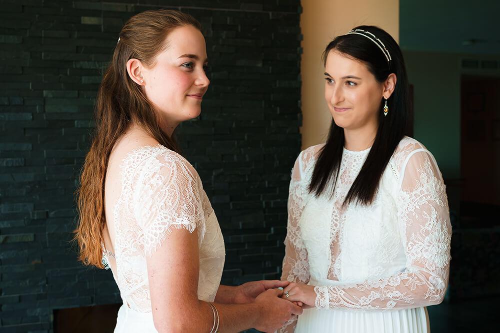 elopement beach wedding cornwall 9